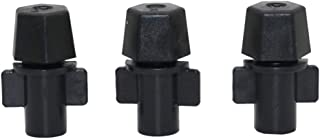 20pcs 6mm Atomization Nozzles 360 Degree Watering Irrigation Sprinkler Head Garden Greenhouse Agriculture Irrigation Syste...