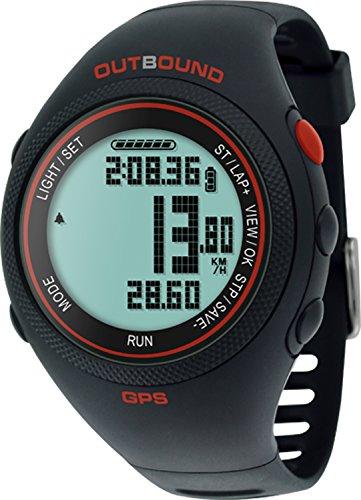 OutBound - Activity Tracker GPS da Polso per Running/Fitness, Impermeabile