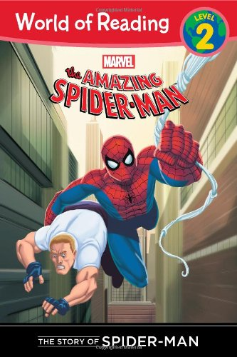 The Story of Spider-Man (Level 2) (World of Reading)