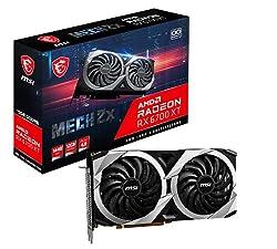MSI Radeon RX 6700 XT MECH 2X 12G OC Grafikkarte '12GB GDDR6, AMD, 3X DisplayPort, HDMI, Dual Fan Cooling System'