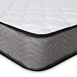 Good Nite Spring Mattress 3FT with 5mm <span class='highlight'>Memory</span> <span class='highlight'>Foam</span> Medium Hardness 3D Breathable Knitting Fabric Fire Resistant Support System 16cm Height (Single (90 x 190)