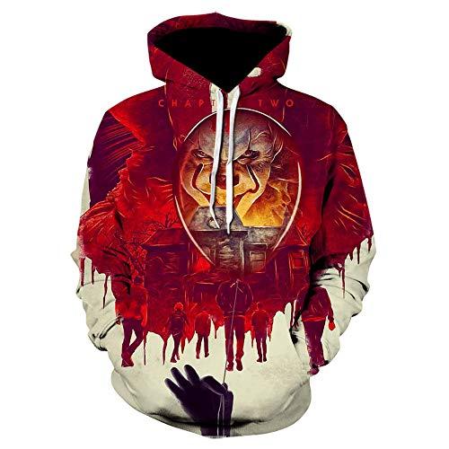 Suicide Squad 3D Cosplay Hoodie Sweatshirts Joker Tops Pullover Clown Costume Hoodies Long Sleeve Mens Hoodies Funny Hoddies-Picture_Color_Size_XL