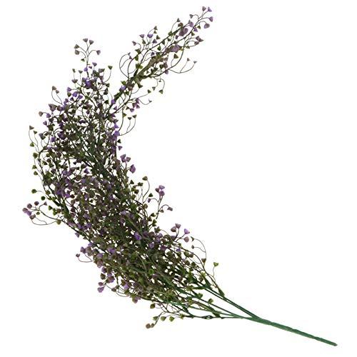 VORCOOL 85CM Flor Artificiales Colgante de Vid Garland Planta para Decoración de la Boda de Fiesta...