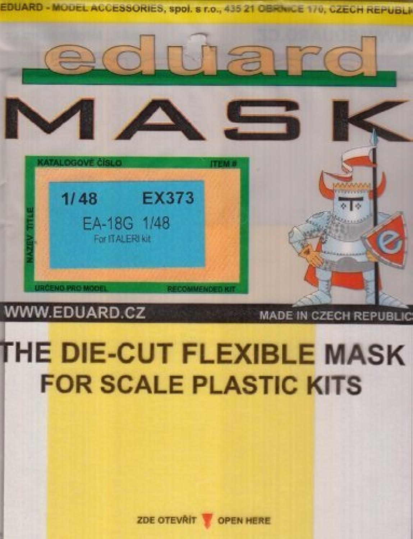 EDUEX373 1 48 Eduard Paint Mask for the 1 48 Italeri EA18G Growler model kit by Eduard
