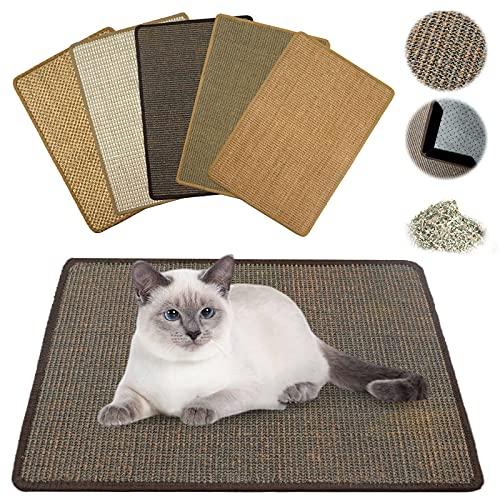 NASTRA Cat Scratch Pad, Scratcher Mat,Scratching Pads,, 23.6...