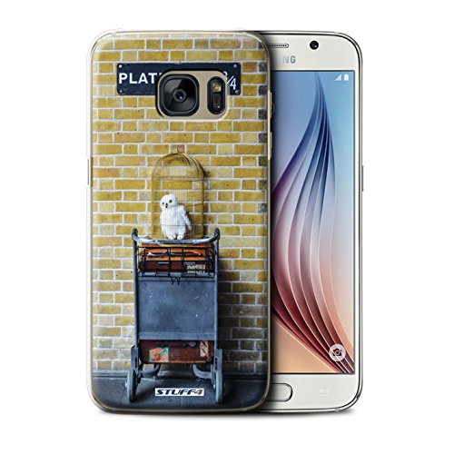 STUFF4 Telefoonhoesje/Hoes voor Samsung Galaxy S6/G920 / Platform 9 3 Qrts Design/London Sites Collection
