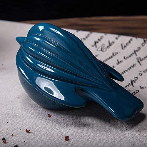 ZXL Keramische Creatieve Kleine Dieren Vogels Ornamenten Home Meubelen Woonkamer Raam Bibliotheek Kast TV Kabinet Decoratie Home Decoratie Slaapkamer, Navy Blauw