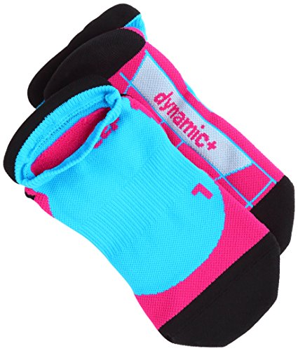 CEP Damen No Show Women Socken,Blau (Türkis/Pink),  EU 40-43 (UK 6.5-9)