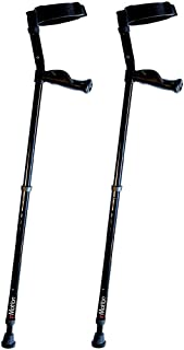 in-Motion Forearm Crutches with Spring Assist | Size Tall (4'9