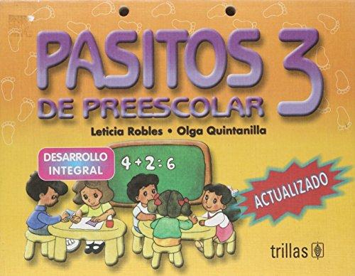 Pasitos de preescolar 3/ Preschool Steps 3: Desarrollo Integral