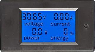 Taidacent 6.5-100V 0-20A 0-100A DC Voltage Current Power Energy Consumption Multimeter Ammeter Voltmeter Multi Function Te...