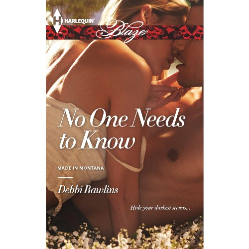 No One Needs to Know audiobook cover art