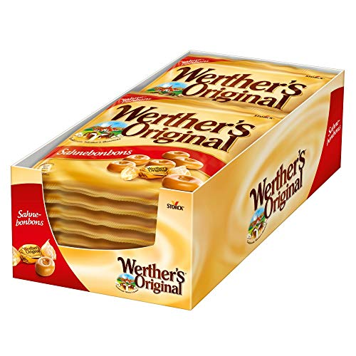 Werther\'s Original Sahnebonbons (15 x 245g) / Karamell Bonbons mit extra Sahne