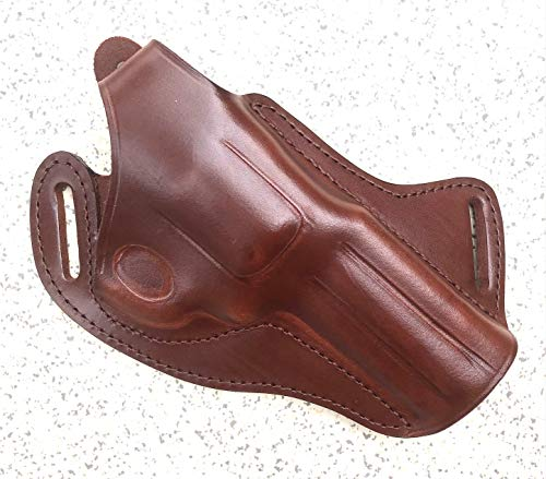 Falco Cross Draw Leather Holster for Ruger GP100 4.2' .357 Mag.
