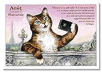 フランス製 キャットポストカード (Aout-Matouriste) CPK088