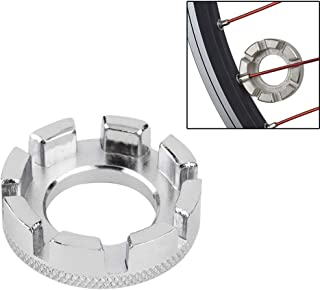 LBgrandspec Bike Bicycle Repair Adjustment Wheel Spoke Cap Ring 8 Way Wrench Spanner Tool