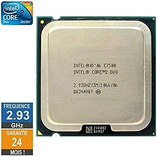 Little Phoenix - Procesador Intel Core 2 Duo E7500 (2,93 GHz, SLGTE LGA775, 3 MB)