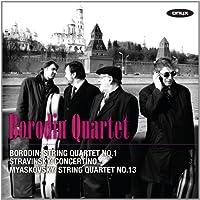 Borodin: String Quartet No.1; Myaskovsky: String Quartet No.13 by Borodin Quartet (2010-06-08)