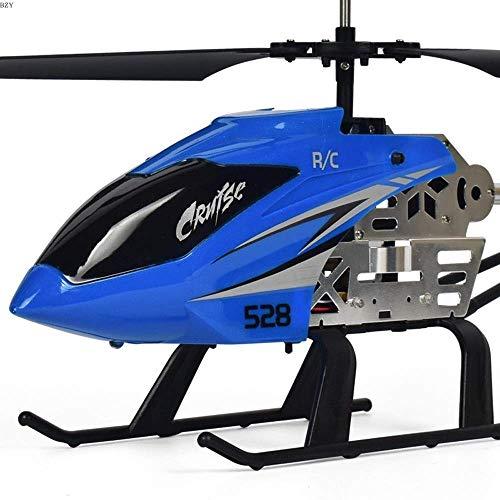 PETRLOY RC Drone Toy Aircraft for niños Teenage Boys Gifts Cable de carga USB Helicóptero de control remoto Juguetes con sistema de estabilización LED Interior/Exterior RC Helicopter 3.5 Canales- Re