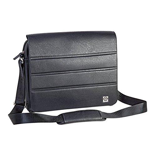 K & M 19705 schoudertas voor noten en tablets PC - zwart