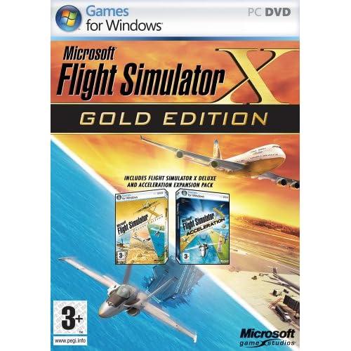 Flight Simulator X - Gold Edition (PC): Flight Simulator X: Amazon