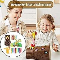 Earlyad Picchio Giocattolo educativo precoce Picchio Magnetico Che Cattura Insetti Giocattolo Sviluppa coordinazione Occhio-Mano e abilità motorie Fini - Regalo di Compleanno per Bambini di efficient #5