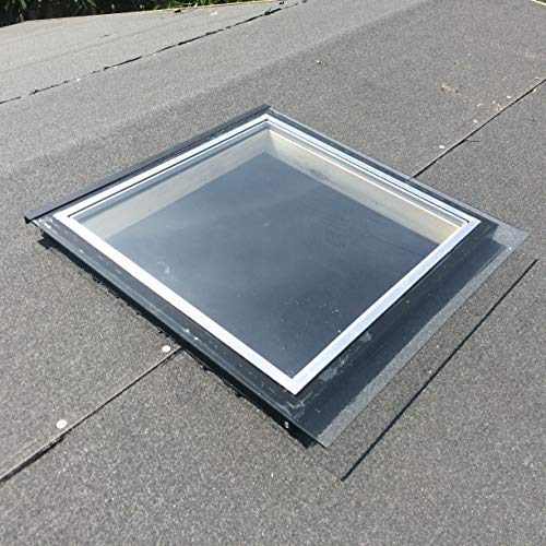 Activent (48cm x 50cm Double Glazed Fixed Skylight For Garden Buildings and Sheds