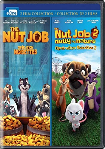 The Nut Job The Nut Job 2 Nutty by Nature Blu ray Double Feature product image