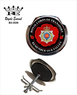 3007 ROYALE MILITARY CAR GRILL BADGE THE SCOTS GUARDS B2