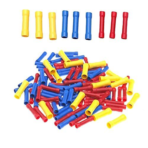 Bestgle 100 piezas tubos termorretráctiles protección de aislamiento retardante de llama,funda de...