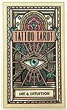 YQRX Tattoo Tarot: Intuición de Tinta, Tarot Deck-78 PCS...