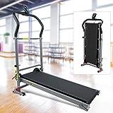 AYNEFY Machine de course pliante, support mécanique motorisé Tapis de course de fitness Power Running Machine Jogging Marche Exercice