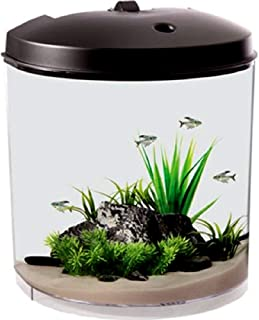 Skrootz Fish Aquarium 3.5 Gallon Sleep Sound Machine Pre-Recorded Natures Sound MP3 Player and Speakers Included