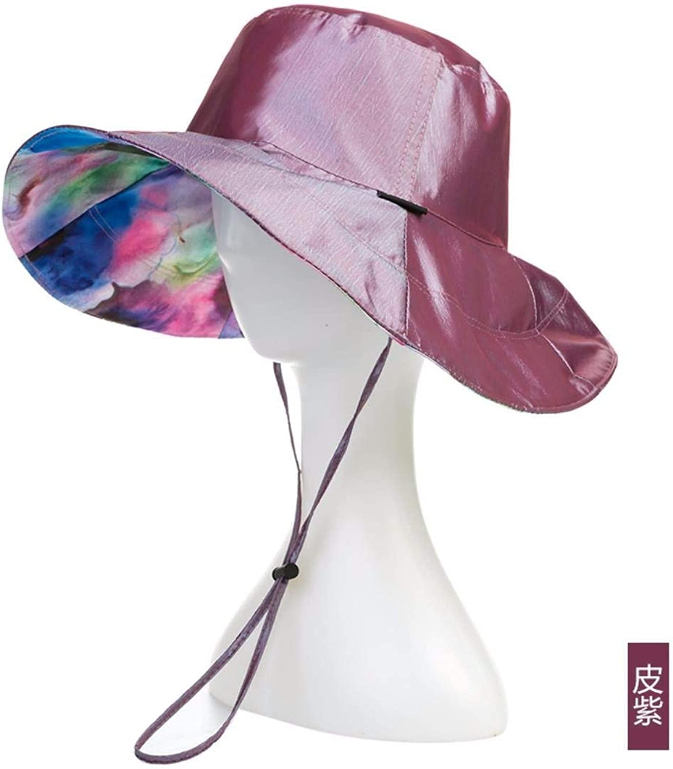 BRNEBN Gift for Mom Gift for grandmother Caps can be folded summer summer sun hateach capat travel hat outdoor hat.