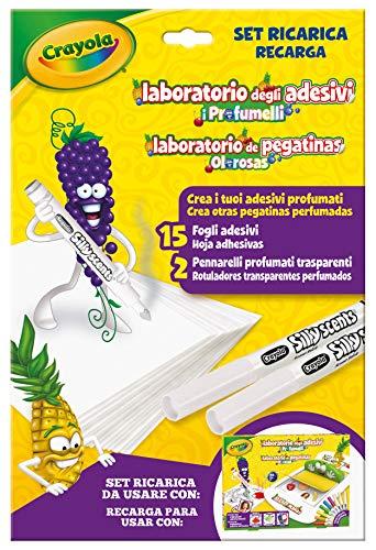 CRAYOLA- Ricarica per Laboratorio Profumelli, Set per Creare Adesivi Profumati, Multicolore, 25-7250