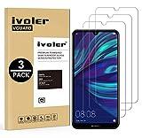 VGUARD [3 Pack] Pellicola Vetro Temperato per Huawei Y7 2019 / Huawei Y7 Prime 2019 / Huawei Y7 PRO 2019, Pellicola Protettiva, Protezione per Schermo