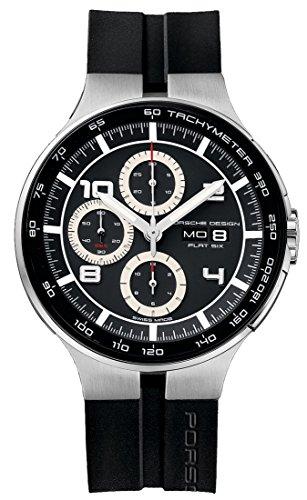 Porsche Design Flat Six Automatic Chronograph Steel & PVD Mens Watch...