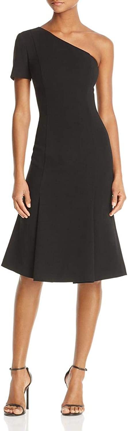Black Halo Womens Joyce One Shoulder Party Special Occasion Dress