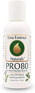 Emu Essence PRO80 with Emu Oil For Sore Muscles & Joints 2 oz