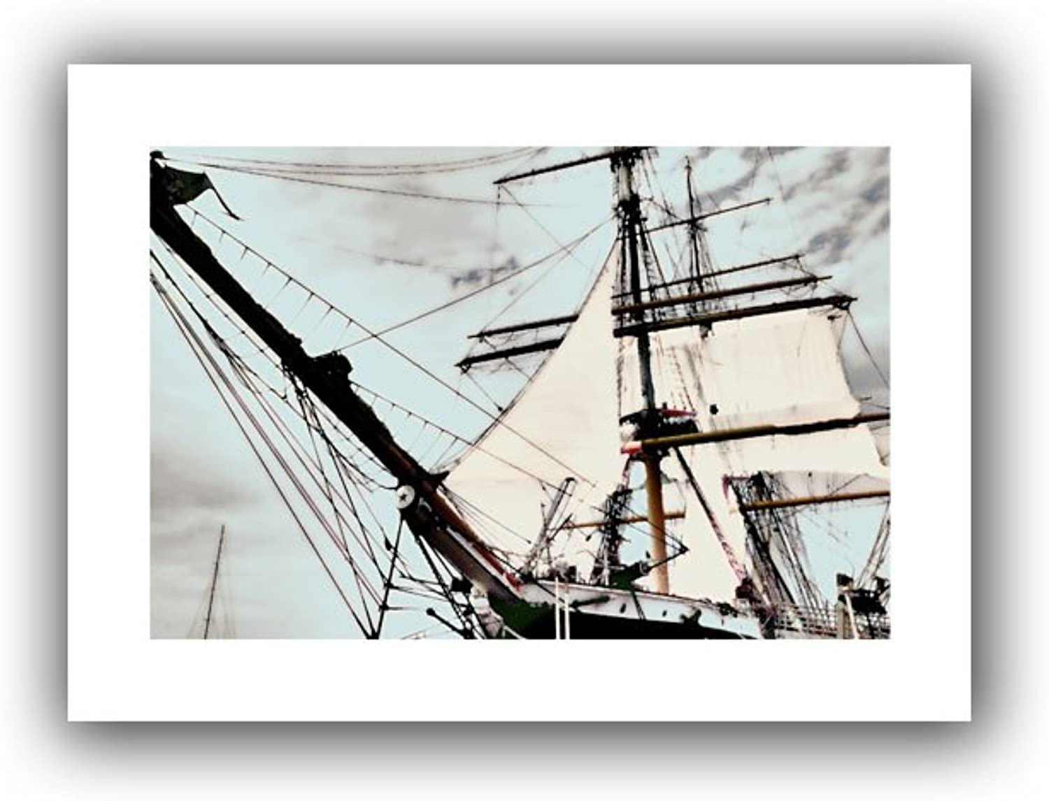 Art Wall Sailing on Star of India I Unwrapped Canvas Artwork by Linda Parker, 22 by 16-Inch