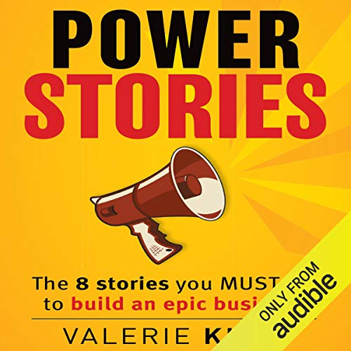 Power Stories audiobook cover art