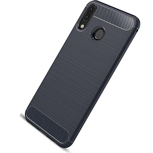 Tianqin ASUS Zenfone 5Z/ZS620KL Funda, Ultra-Delgado Carcasa Protectora Ultra Ligera PC Plástico Duro Case Anti-Rasguños Parachoque para ASUS Zenfone 5Z/ZS620KL Case - Azul