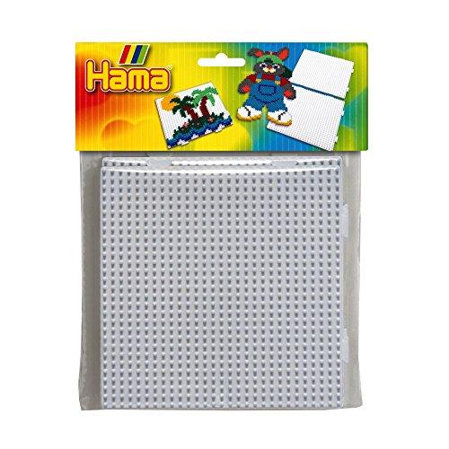 DAN Import HAMA Stiftplatte Quadrat, 2 Platten Zum Stecken