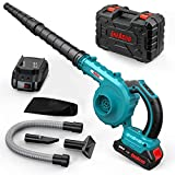 Best Battery Leaf Blowers - ENEACRO Cordless Leaf Blower, 20V 2.0AH Lithium Battery-Powered Review
