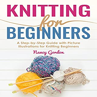 Knitting for Beginners audiobook cover art