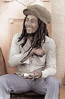 BEYONDTHEWALL Archive Bob Marley Spliff Roller Reggae Rastafarian Music Legend Icon Poster Print (24X36 UNFRAMED Poster)