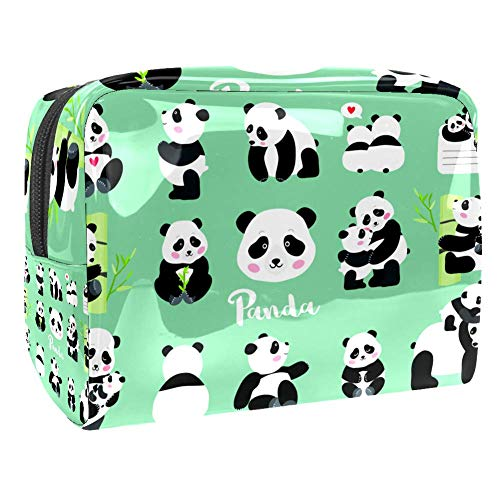 Maquillage Cosmetic Case Multifunction Travel Toiletry Storage Bag Organizer for Women - Cute Panda