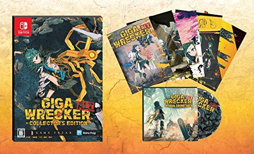 GIGA WRECKER ALT.(ギガレッカーオルト) コレクターズエディション - Switch (【特典】アートブック、サウ...