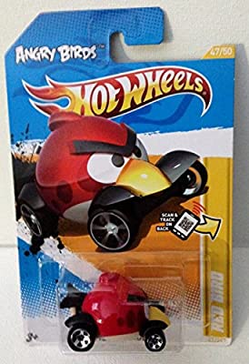 Hot Wheels 2012 Hw Premiere 47/50 - Angry Birds Red Bird