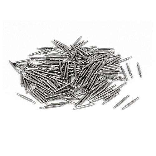 Pasador de pasador para barra de resorte de acero inoxidable, 200 piezas para correa de reloj de 11 mm